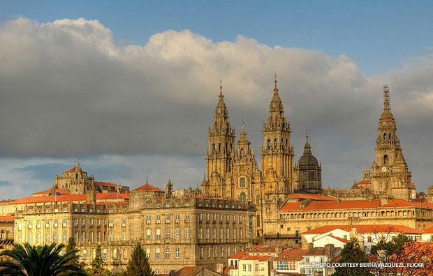 In September, members of the International National Trusts Organisation's executive committee will walk from La Coruna to Santiago de Compostela along the Pilgrims' Way to raise money for the organization. Photo courtesy bernavazqueze, Flickr.