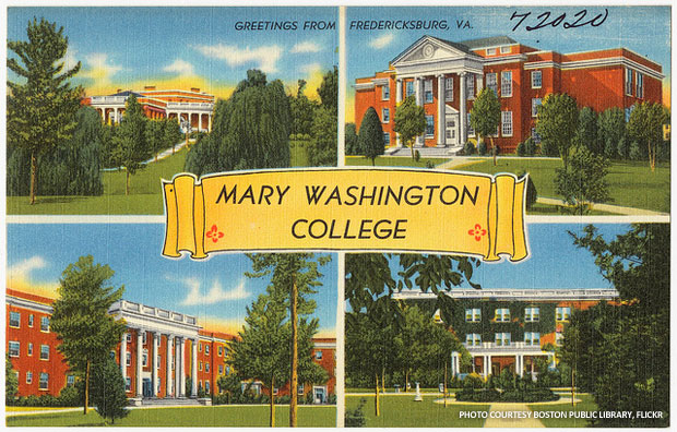 The historic preservation program at University of Mary Washington (formerly Mary Washington College) in Fredericksburg, VA, is a member of the National Council for Preservation Education. Photo courtesy the Boston Public Library on Flickr.