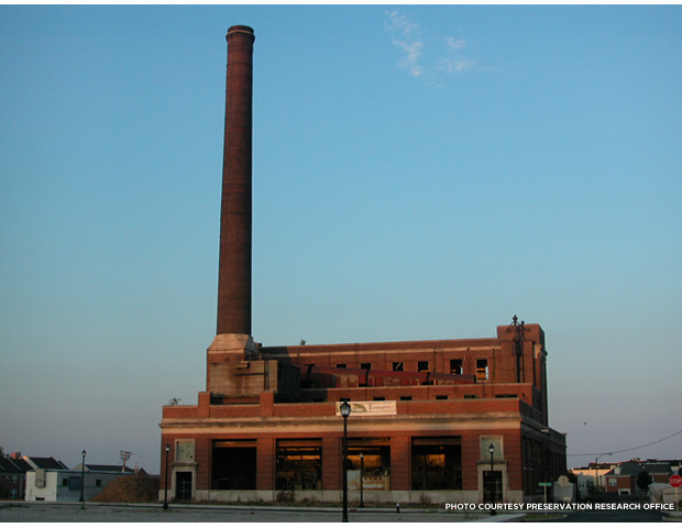 The Power Plant in 2008. Credit: Preservation Research Office.