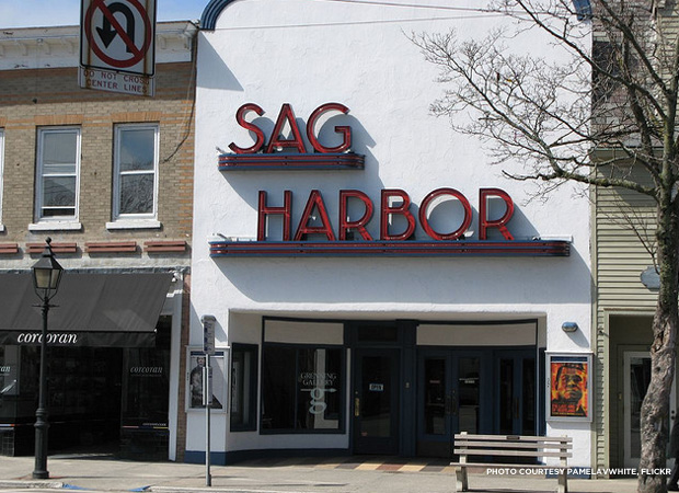 Sag Harbor Movie Theater. Credit: PamelaVWhite, flickr