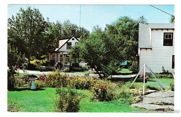 A postcard of Rock Rest in its heyday in 1959, given to guests as a souvenir. Credit: Valerie Cunningham