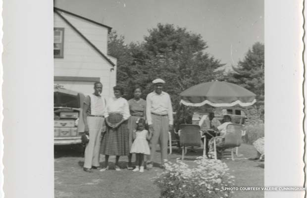 Guests staying at Rock Rest. Date unknown. Credit: Valerie Cunningham