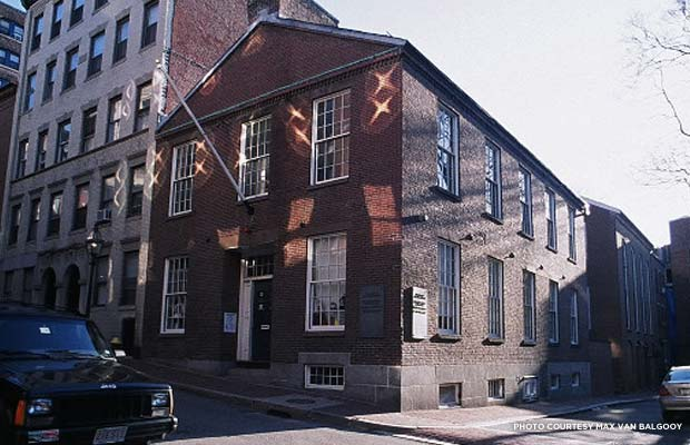 African Meeting House, Boston MA. Credit: Max van Balgooy