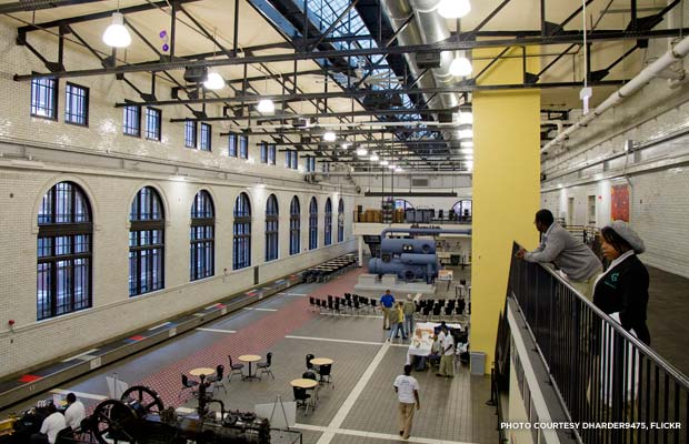 Overlooking the Great Room at the Charles H. Shaw Technology and Learning Center. Credit: dharder9475, flickr