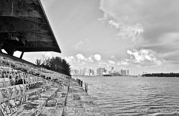 Miami Marine Stadium. Credit: National Trust for Historic Preservation