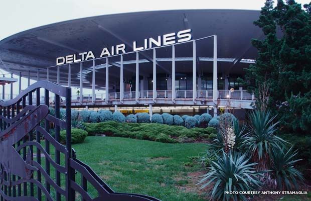 Delta Air Lines is the current tenant of the Worldport at JFK, now known as Terminal 3. Credit: Anthony Stramaglia