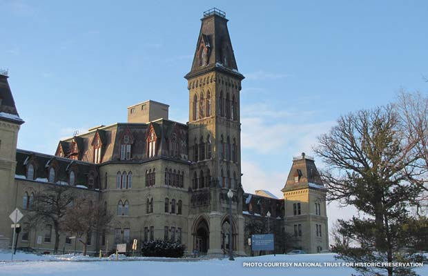 Milwaukee VA Soldiers Home. Credit: National Trust for Historic Preservation