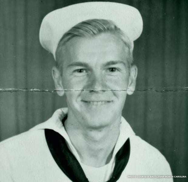 Paul A. Wieser, Boatswain's Mate 1/c. Credit: Battleship North Carolina