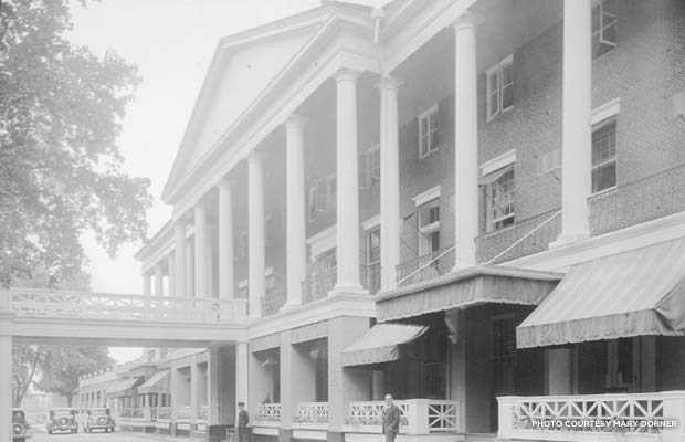 Bedford Springs Resort & Spa in 1930. Photo courtesy Mary Dorner
