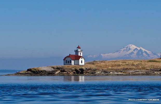 San Juan Islands, Patos Island Light. Credit: Tom Reeve
