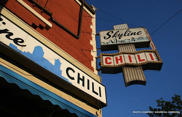 Skyline Chili, Cincinnati. Credit: Wikimedia Commons