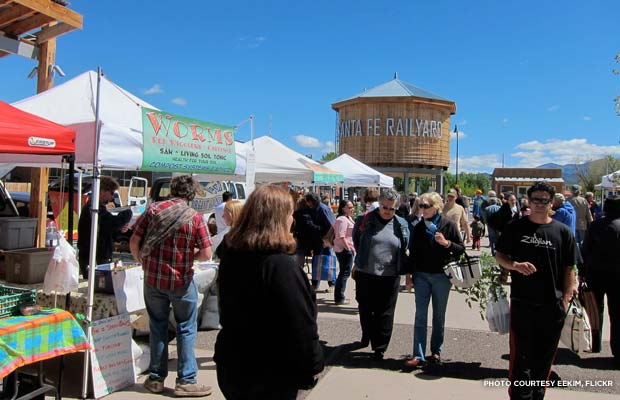 Santa Fe Farmers Market. Credit: eekim, flickr
