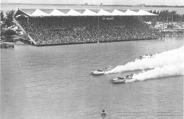 1975 Champion Spark Plug Regatta. Courtesy Friends of Miami Marine Stadium
