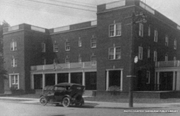 The Sherburne Inn in 1917. Credit: Sherburne Public Library