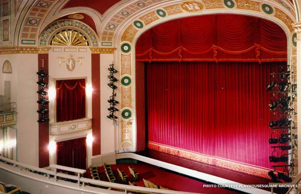 Ohio Auditorium restored. Credit: PlayhouseSquare Archives