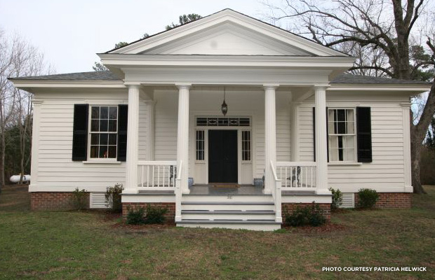 blog_photo_historic greek revival cottage - Greek Revival Cottage