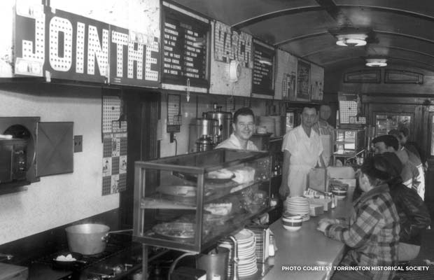The interior of Skee's as it was under the helm of Tony Cisowski in the 1950s. Credit: Torrington Historical Society