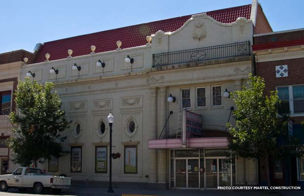 Exterior of the Rialto Theater, 2010. Credit: Martel Construction