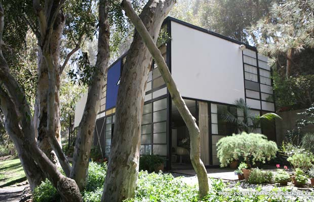 The Eames House, Case Study House #8, was one of roughly two dozen homes built as part of The Case Study House Program. Credit: Brandon Shigeta, Flickr