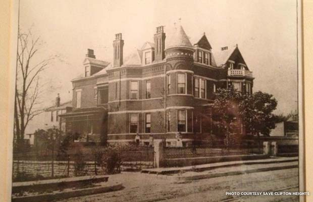 Residence of Hon. John Goetz Jr. c. 1890. Credit: Save Clifton Heights