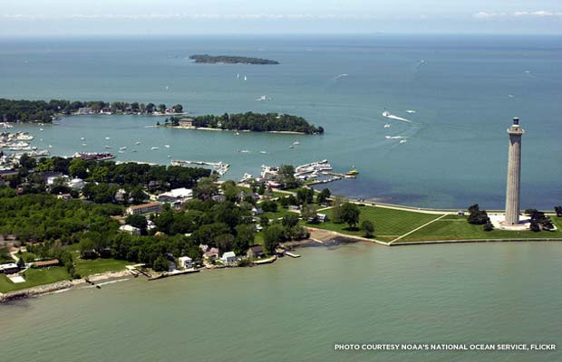 Put-in-Bay, Ohio, where Perry's fleet awaited the arrival of the British. Credit: NOAA's National Ocean Service, Flickr