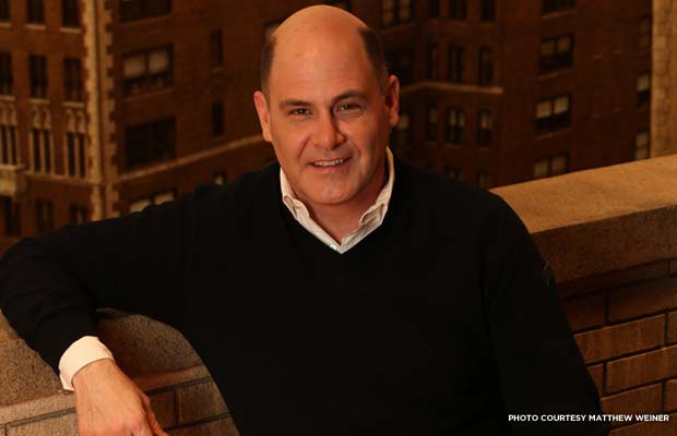 Matthew Weiner on set. Credit: Matthew Weiner