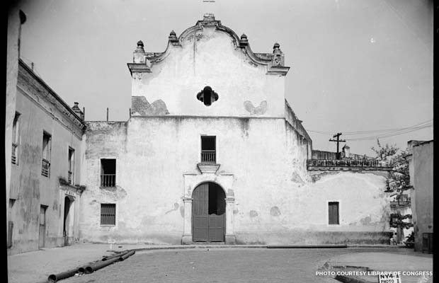 Old photo of San José Church, Puerto Rico. Credit: Library of Congress