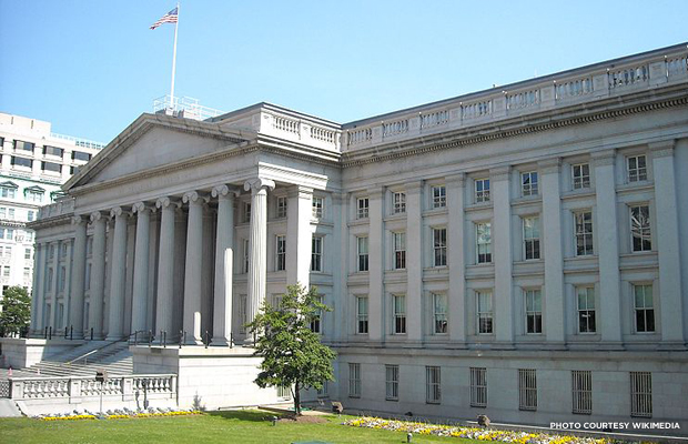 U.S. Treasury. Credit: Wikimedia