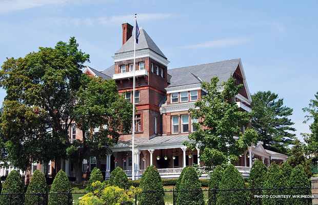 New York State Executive Mansion. Credit: Wikimedia.