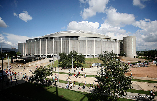 The Houston Astrodome. Credit: Ed Schipul, Flickr.