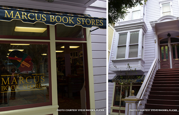 Marcus Books: San Franciscans hope landmark designation and city resolution will save the oldest African-American-owned bookstore in the country. Credit: Steve Rhodes, Flickr.
