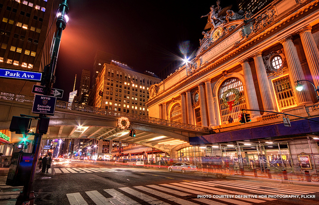 Grand Central Terminal. Credit: Definitive HDR Photography, Flickr.