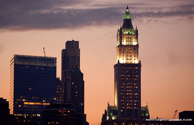 Woolworth Building. Credit: laverrue, Flickr.