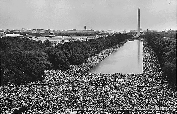 The March on Washington. Credit: US Information Agency.