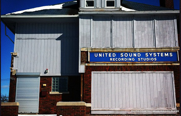 The United Sound System Recording Studios' and its long music history may be run over by a freeway. Credit: Brian Mulloy, Flickr.