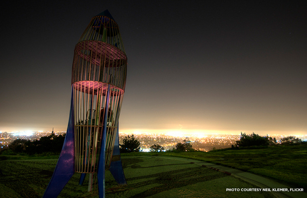The Rocketship Park. Credit: Neil Klemer, Flickr.