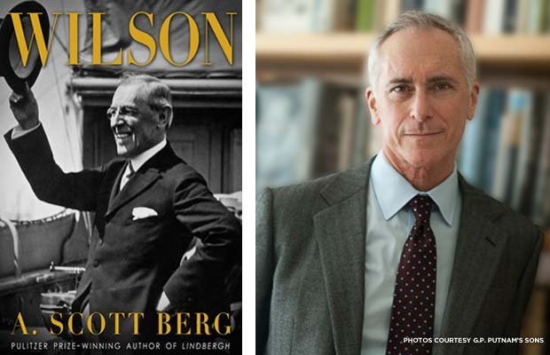 """Wilson,"" a biography by author A. Scott Berg. Credit: G.P. Putnam's Sons"