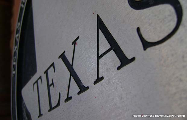 Close-up of a Texas Historical Commission plaque. Credit: Trevor.Huxham, Flickr