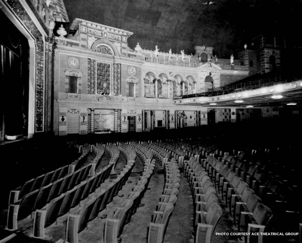 A view of the theater's interior, circa 1930. Credit: ACE Theatrical Group