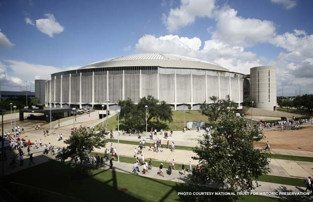 Astrodome. Credit: National Trust for Historic Preservation