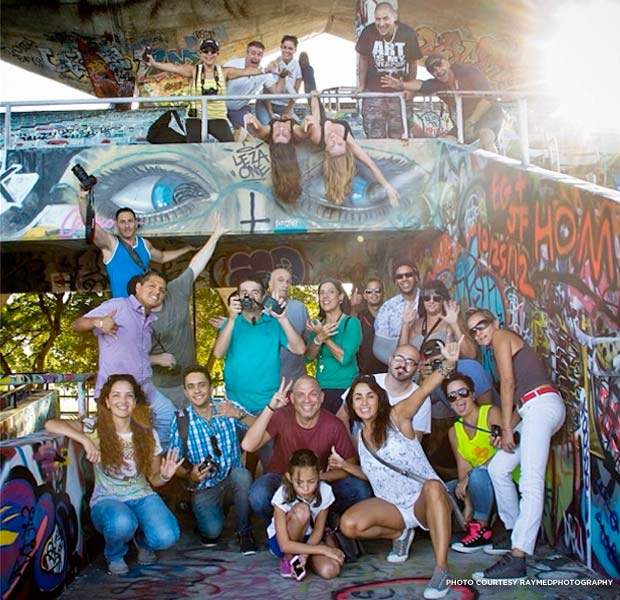 Thirty Instagram aficionados went behind the scenes at Miami Marine Stadium in October 2013. Credit: RAYMEDphotography