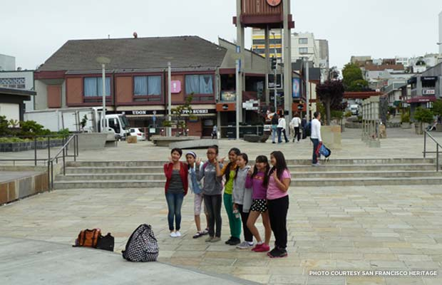 A walking tour of San Francisco's Japantown included a trip to Benkyodo, the city's oldest Japanese American bakery. Credit: San Francisco Heritage