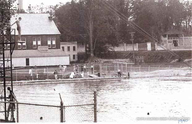 The pool in 1940. Credit: Kennry Rotner, FUNHOP