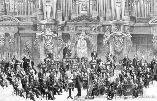 Boston Symphony Orchestra. Credit: Board of Trustees, Methuen Memorial Music Hall, Inc.