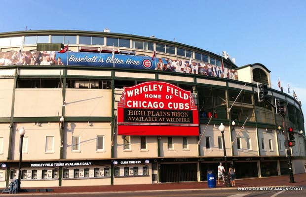 Wrigley Field. Credit: Aaron Stoot