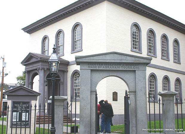 Touro Synagogue was originally built in 1763. Credit: dbking, Flickr