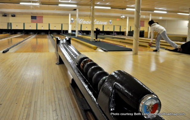Woodlawn Duckpin Bowling West Haven CT - Duckpin Bowling Balls Retro Roadmap
