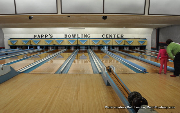 Papp's Bowling Center Bordentown NJ - Alley - RetroRoadmap