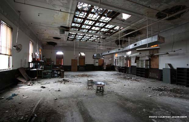 Kinloch Telephone Exchange Company (interior). Credit: Jason Deem