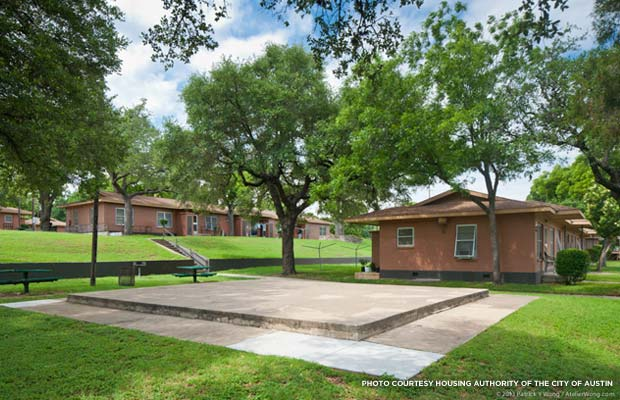 Public Housing Community Rich In African American History Faces